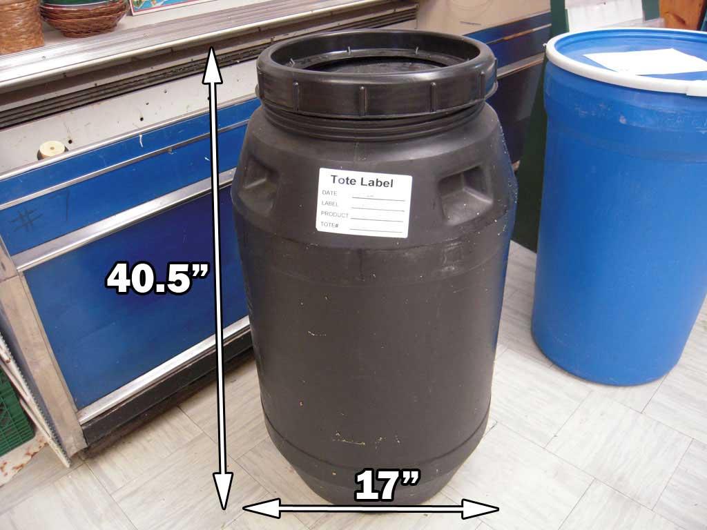 Barrel Storage Containers Konzertefans