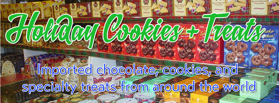 Holiday cookies and chocolate treats from around the world!
