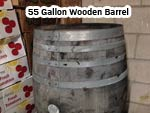 55 Gallon Wooden Barrels